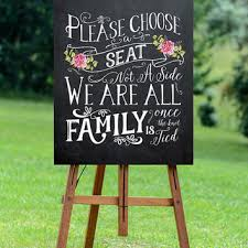 wedding seating signs best a seat wedding sign products on wanelo