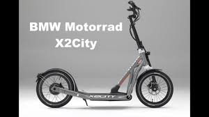 bmw folding bicycle bmw motorrad x2city folding electric scooter youtube cars and