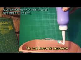 Hygienna Solo Portable Bidet Giraf Portable Travel Bidet Model Youtube