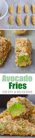 crispy baked avocado fries so addictive