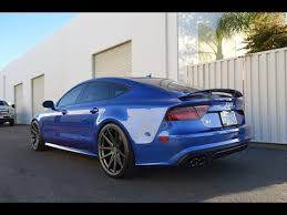 blue audi s7 vr tuned audi s7 review
