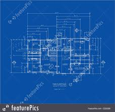 blue print house home blue print home blueprint collection vector art getty