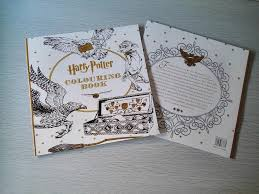 harry potter coloring book books children secret