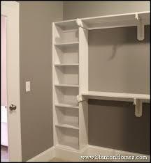 Bedroom Closet Storage Ideas New Home Master Bedroom Closet Storage And Builtin Shelving Ideas