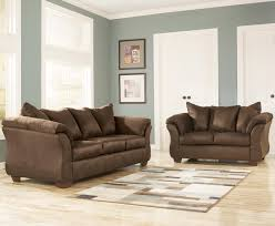 Chair And Ottoman Sets Ashley Signature Design Darcy Cafe Rocker Recliner Rooms And