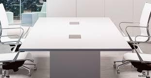 White Meeting Table Meeting Tables Sistema28 White Table Fantoni Uk