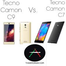 what is the difference between c7 and c9 lights tecno camon c9 vs tecno camon c7 a side by side feature review