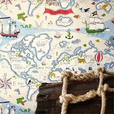 Treasure Maps Just Kids Wallpaper Blog Little Sanderson Wallpaper For Boys