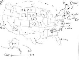us map fill in londoners were asked to fill in a map of us states album on imgur