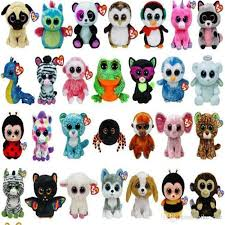 2017 cute stuffed animals ty beanie boos baby soft plush stuffed