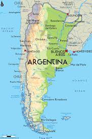 Map Chile Copy Of Argentina Y Chile Lessons Tes Teach