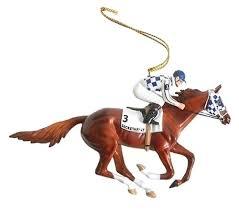 breyer race ornaments vintage rocking