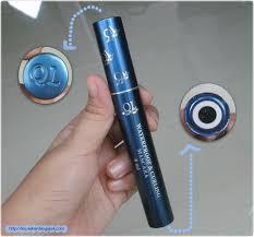 Maskara Ql indonesia by via han review ql waterproof
