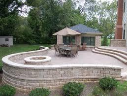 Backyard Paver Patio Designs Patio Design Installation Montgomery County Patio Builders Md Dc