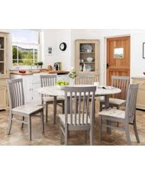 grey kitchen table and chairs florence large pedestal round dining table 120cm dove grey