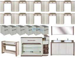nail salon furniture package deal white color