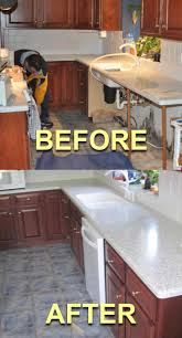 restoring old painted kitchen cabinets monsterlune