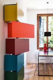 table cuisine pivotante colonne de rangement se dresse pour une économie d espace