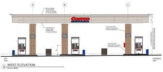 gas station floor plans costco gas station gets early nod for more fueling stations