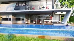 architectural 3d flythrough for exclusive bungalows design video