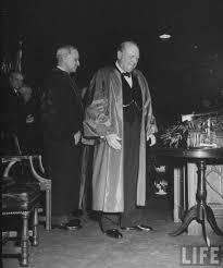 Winston Churchill And The Iron Curtain Churchill U0027s Iron Curtain Speech Vintage Everyday