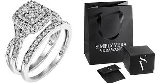 engagement rings kohl s kohl s cardholders vera wang engagement ring set 480