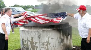 Desecrating The Flag Should Burning The Flag Be A Crime Free Newstrib Com