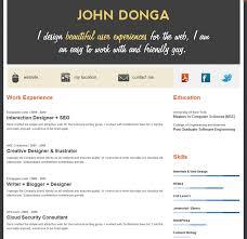Creative Online Resumes by 15 Best Online Cv Images On Pinterest Online Cv Online Resume