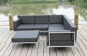 soulful furniture metal outdoor furniture large concretepillows