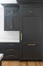 kitchen paint ideas with black cabinets the best black paint for kitchen cabinets apartment therapy
