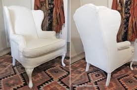 Slipcover For Wingback Chair Design Ideas Slipcovers For Wing Chairs Design Ideas Eftag
