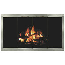 heatilator fireplace doors with 14 gauge steel constructed frame