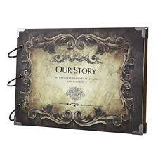 Scrapbook Wedding Album Wedding Photo Albums Ebay
