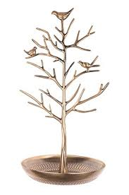 antique dish ring holder images Antique vintage perched birds gold jewelry tree stand with ring jpg