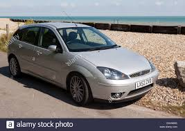 2002 Focus Wagon Image Of A 2002 Silver Ford Focus St170 Parked By The Beach At