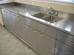 Steel Kitchen Cabinet Commercial Stainless Steel Kitchen Cabinets 26 With Commercial