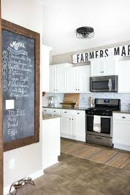 Farmhouse Kitchen Rug Modern Farmhouse Kitchen Makeover Reveal Bless Er House