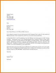 medical assistant cover letter medical assistant cover letter