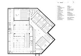 theater floor plan gallery of albi grand theater dominique perrault architecture 33