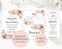 Wedding Invitations Packages Wedding Invitation Template