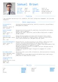 Software Developer Resume Example Software Engineering Resume Samples Career Help Center