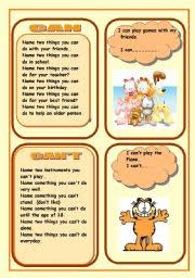 worksheet modal verb can