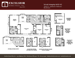 schult integrity 6432 43 excelsior homes west inc