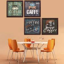 how to hang a painting modern europe restaurant adornment cafe wall hang picture paintings