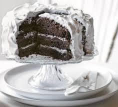 chocolate u0026 caramel ombre cake recipe bbc good food