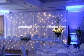 wedding backdrop led mesh warm white led starlit twinkle curtain wedding