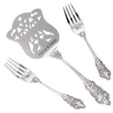 serving set wedding cake serving set forever always wedding cake serving set