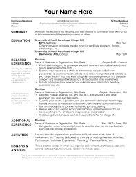 Resume Templates Example by 100 Cover Resume Examples 14 Best Free Resume Templates
