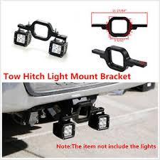 work light mounting bracket 1 tow hitch light mounting bracket dual reverse rear work light for