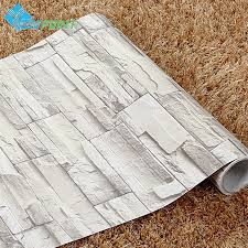 self adhesive wall paper 60cmx10m new classical brick pattern wall paper rolls coffee house
